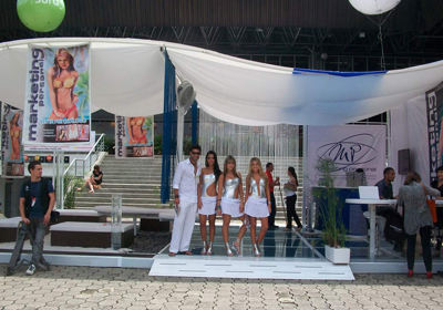 Diseño Stand Lounge